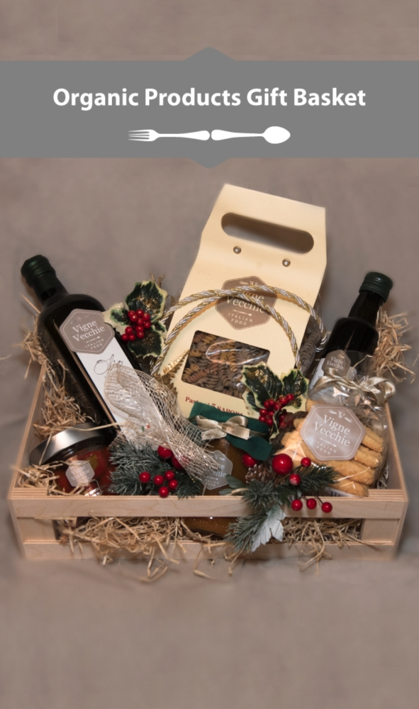 Tasting box of organic products of Puglia
