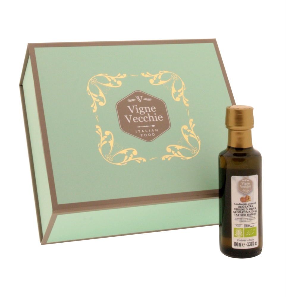 Organic extra virgin olive oil white truffle infused 100 ml