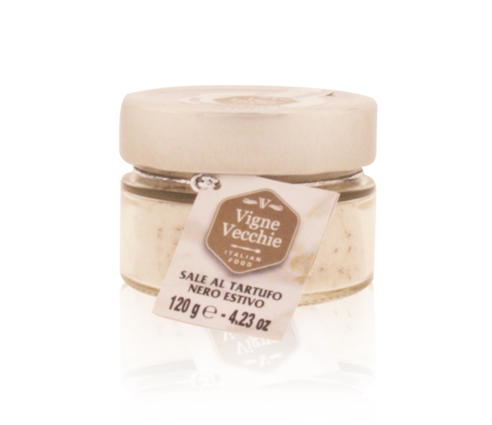 Black truffle salt 120 g e