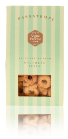 Tarallini with organic extra virgin olive oil 125g e